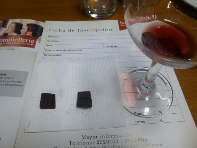 Chocolate Pairing Wine 2015