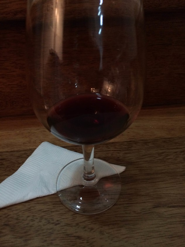 Merlot: dry, though the bouquet is pleasing.
