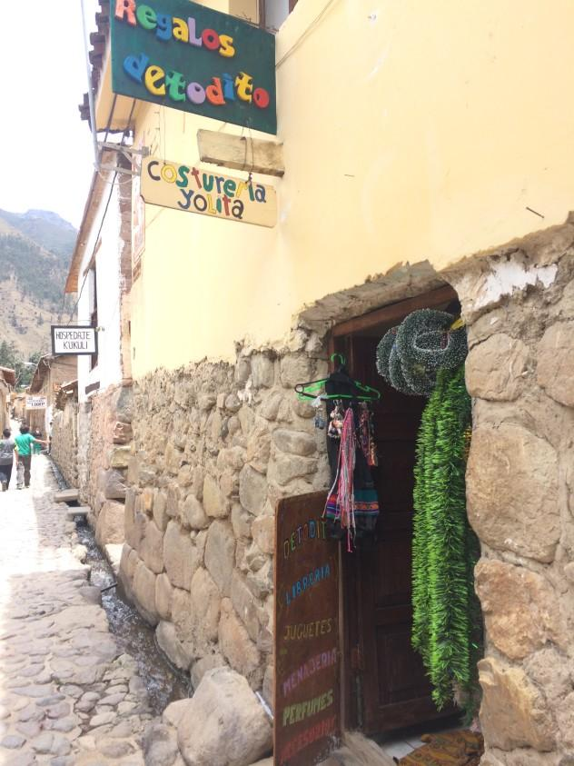 One of the many local shops to check out in Ollantaytambo, Peru. | | | The most comprehensive guide out there to Ollantaytambo, Peru, a small town on the way to Machu Picchu that I had the pleasure to live in for a few months! | #Ollantaytambo #machu Picchu #sacred #valley #valle #sagrado #Travel #Cusco #cuzco #guide #itinerary #What #to #do #eat