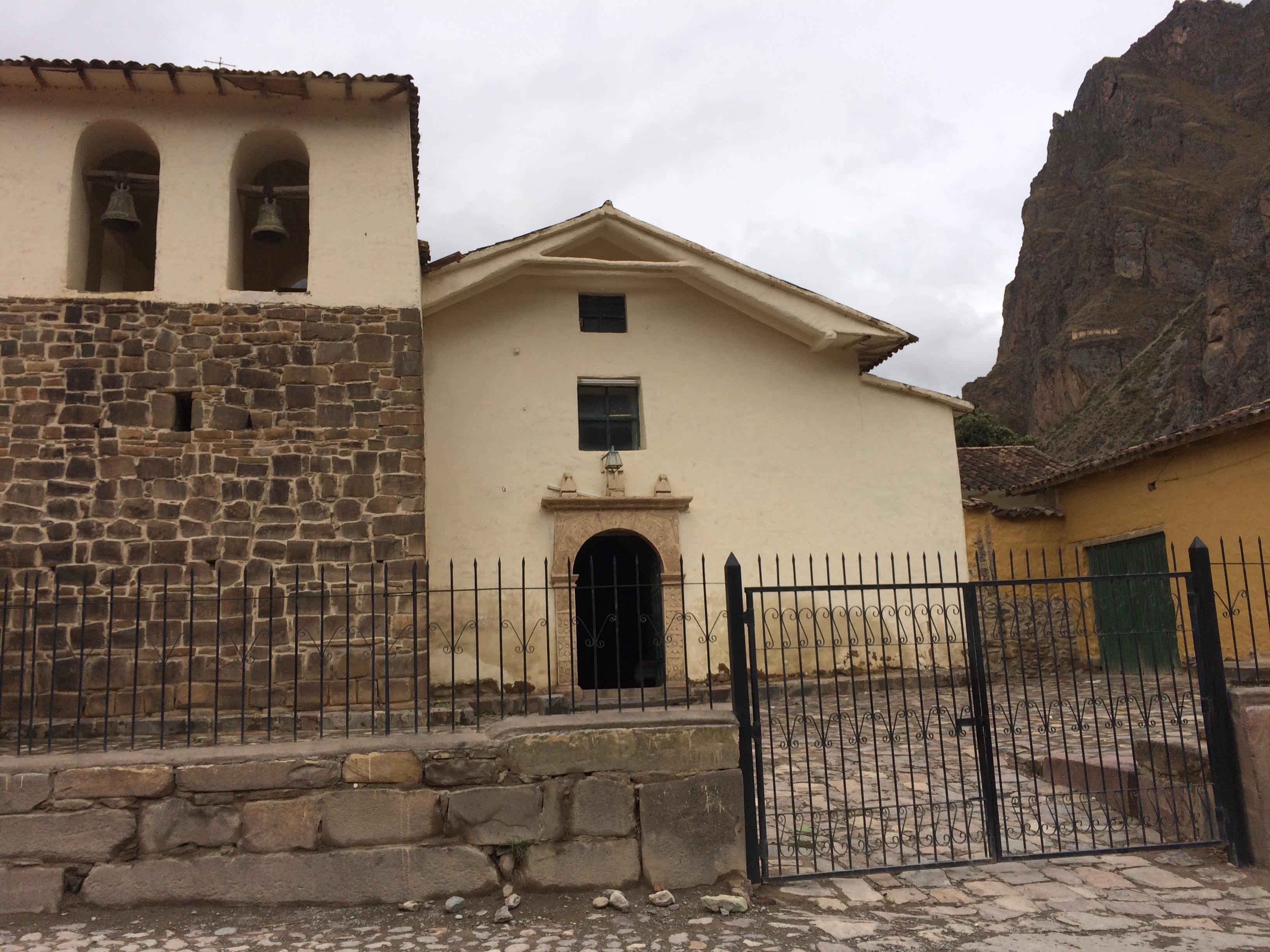 iPhone Machu Picchu 037 - Becoming a Godmother: On Peruvian Churches