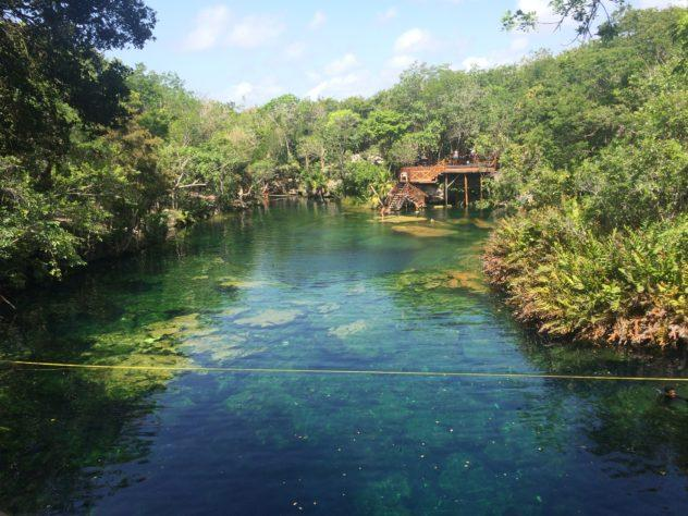 Though Miami has no cenotes-- a must-see that's definitely not in any resort!