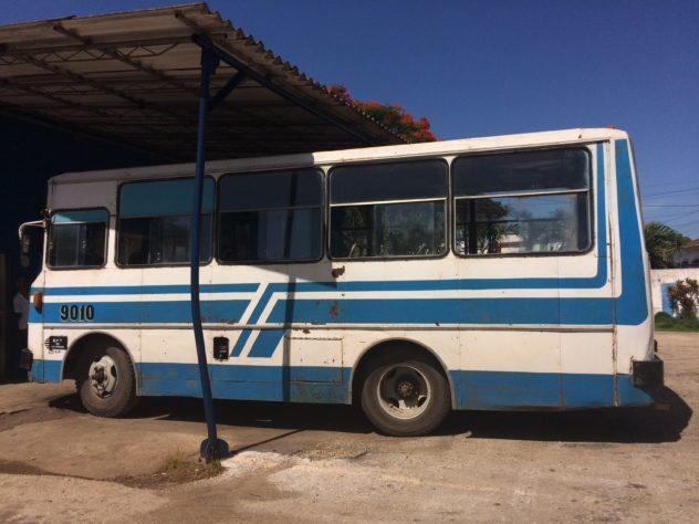 Local Bus Transport in Cuba