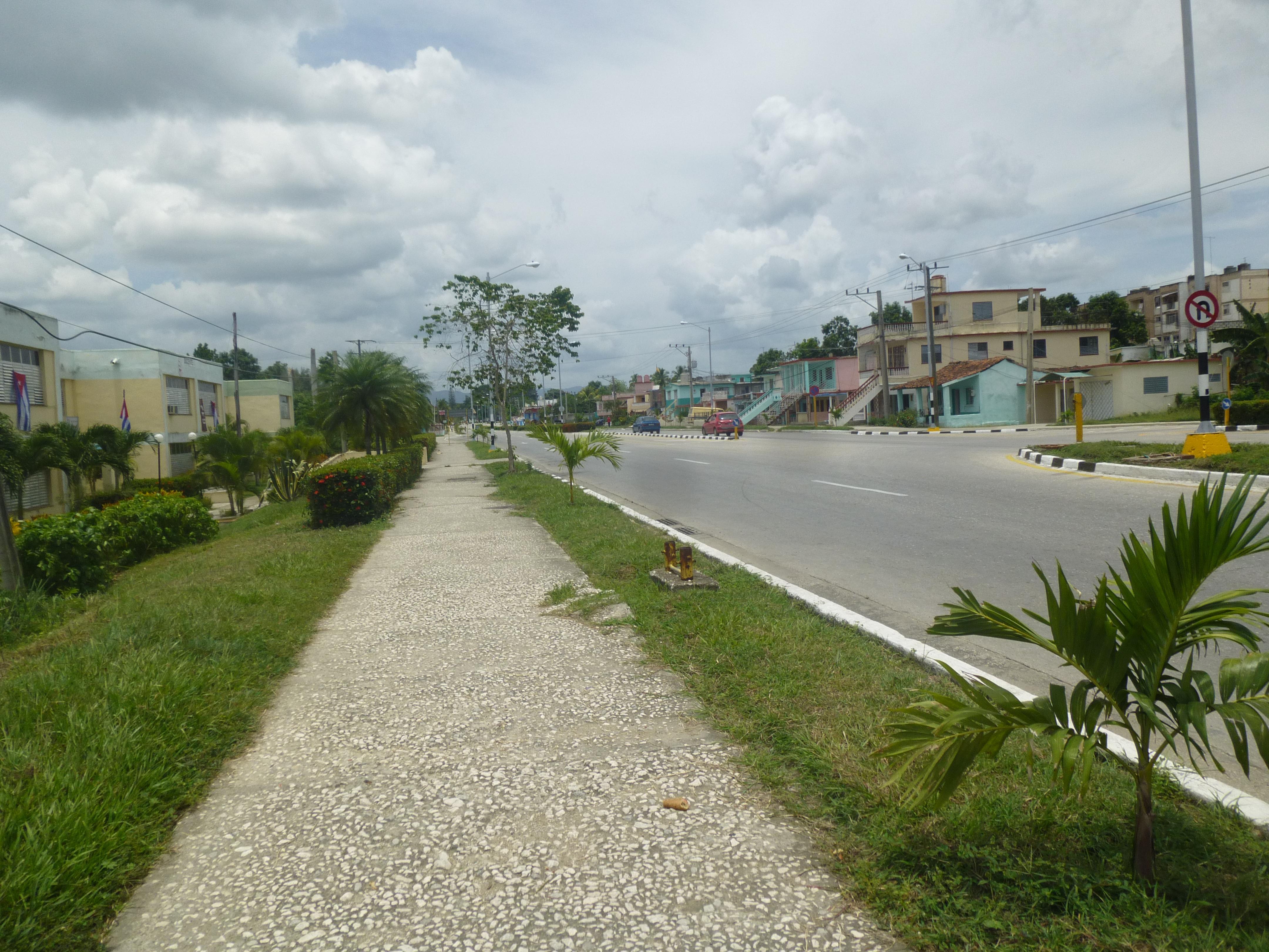 P1040871 - Trouble Outside of Trinidad, Cuba