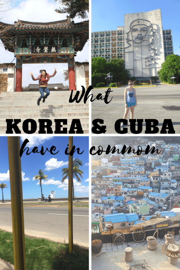 Wait, Korea and Cuba? What could those two possibly have in common? Well, I'll give you 22 ways. | #cuba #south #korea #travel #caribbean #asia #east #havana #strange #unique #common #know #before #go #pride #korean #cuban #strange #backpacking #backpack