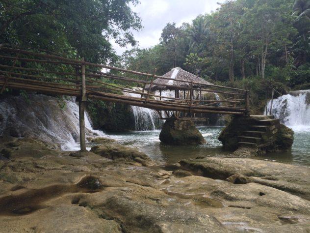 Bohol Island Tour Philippines Waterfall