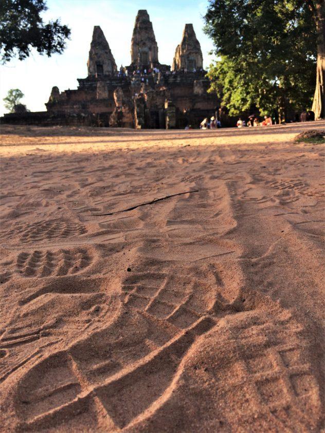Angkor Wat Path Cambodia Siem Reap