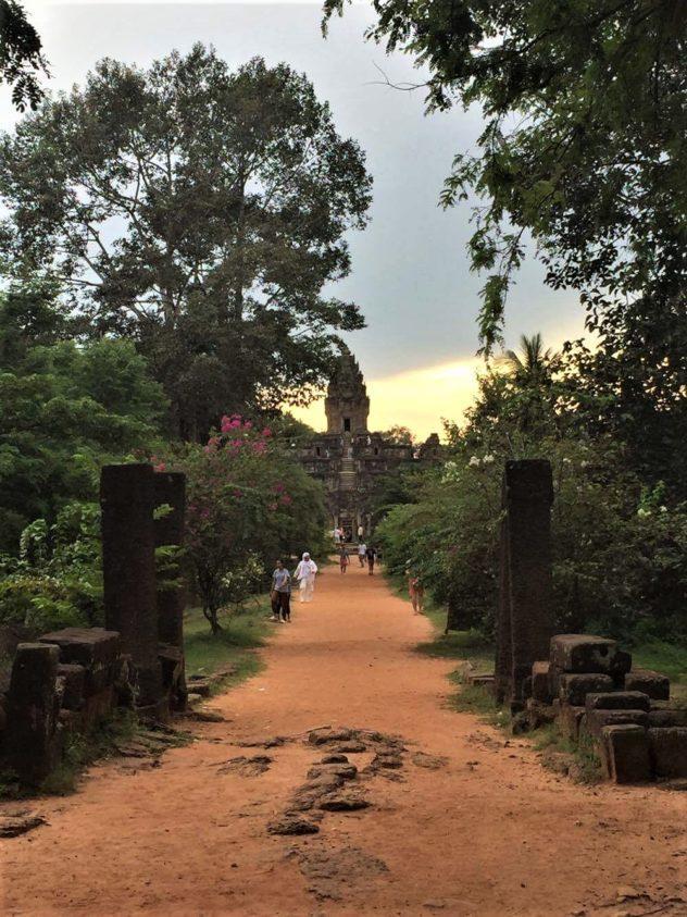 Angkor Wat Path Cambodia Siem Reap Temple Jungle Path