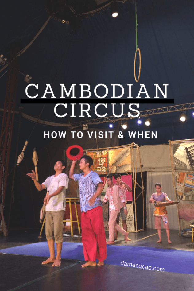 Wondering what to do in Cambodia? Search no further than the circus, an astounding performance by teenagers, run by a non-profit based in the city of Battambang. It'll be the best night of your trip, guaranteed.   #cambodia #battambang #southeast #asia #travel #wanderlust #interesting #activities #must #see #do #circus #phare #ponleu #selpac #unique
