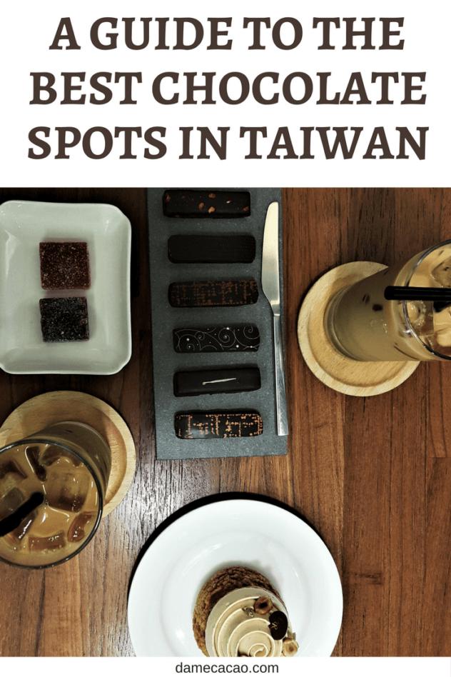 Taiwan chocolate pinterest pin 1