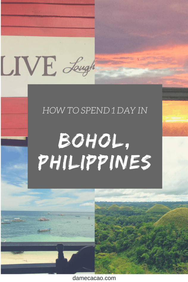 Want to see everything in Bohol, but short on time? Then hop on a motorbike and get ready to take off, because we've got the major sites covered in this 1 day itinerary for Bohol Island. | #travel #wanderlust #philippines #bohol #chocolate #hills #tarsiers #itinerary #one #day #beach #island #southeast #asia #what #to #see