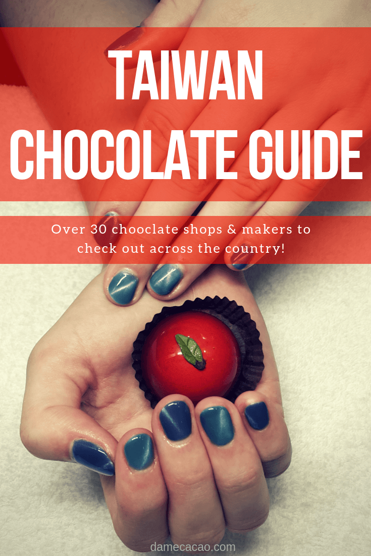 A Guide To The 30 Best Chocolate Spots In Taiwan Map