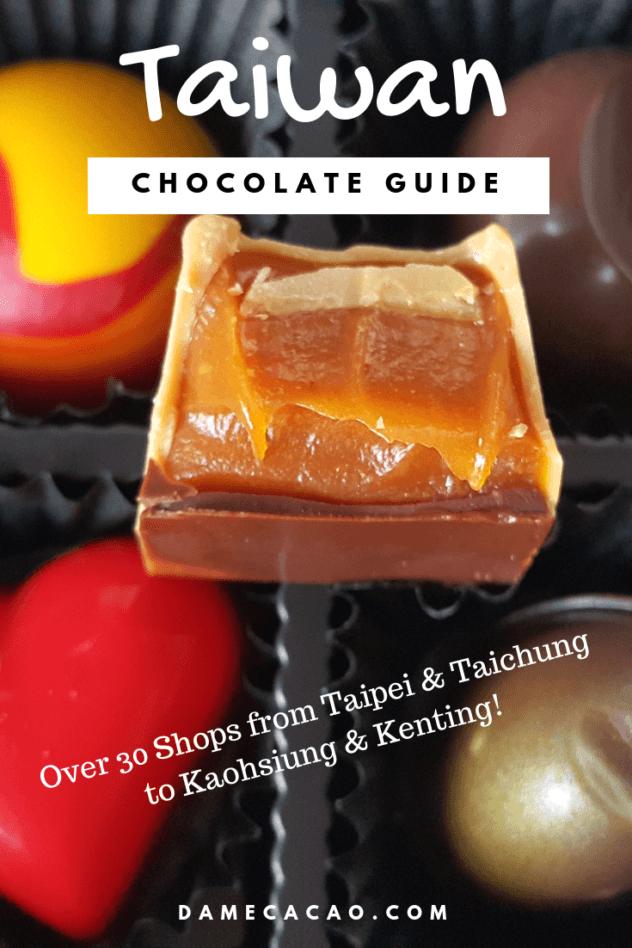 Taiwan chocolate pinterest pin 3
