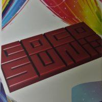 cocosun jobar milk chocolate taiwan ecuadorian front of bar packaging