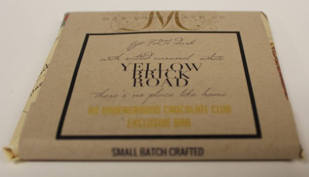 map chocolate underground yellow brick road fiji white chocolate caramelized