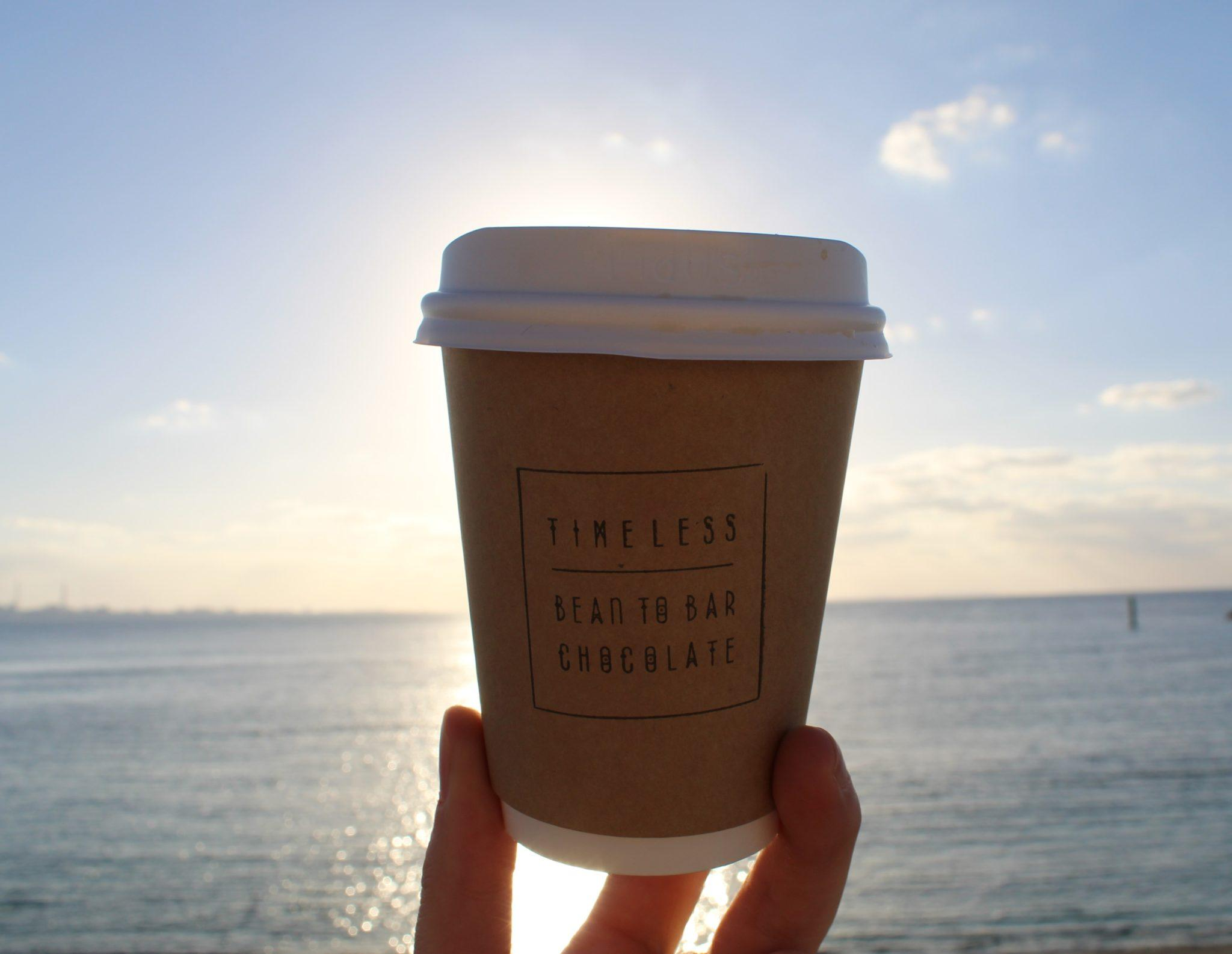 timeless chocolate okinawa japan cup of chai tea