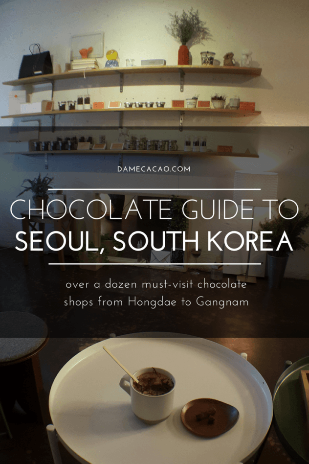 Seoul chocolate pinterest pin 2