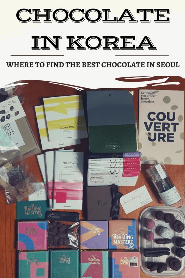 Seoul chocolate pinterest pin 3