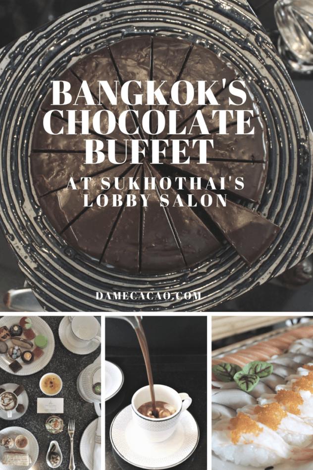 Bangkok Chocolate Buffet at Sukhothai's Lobby Salon | #Bangkok #Thailand #chocolate #european #travel #foodie #buffet #foodies #thai #sukhothai #hot #chocolat #hotel