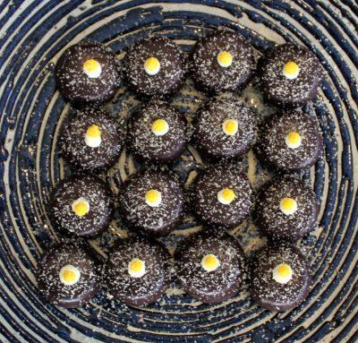 sukhothai lobby salon chocolate buffet desserts plate