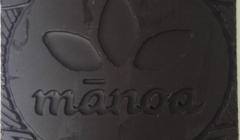 Manoa Hilo Island Chocolate Front of Bar