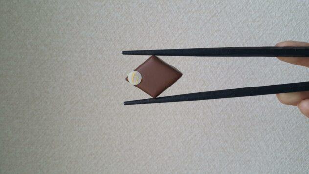 osaka chocolate guide ek chuah truffle in a chopstick