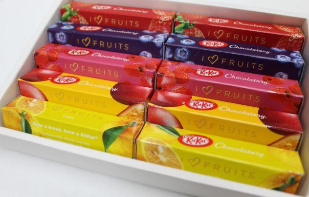 i heart fruit kitkats fruity chocolate collection chocolatory japan