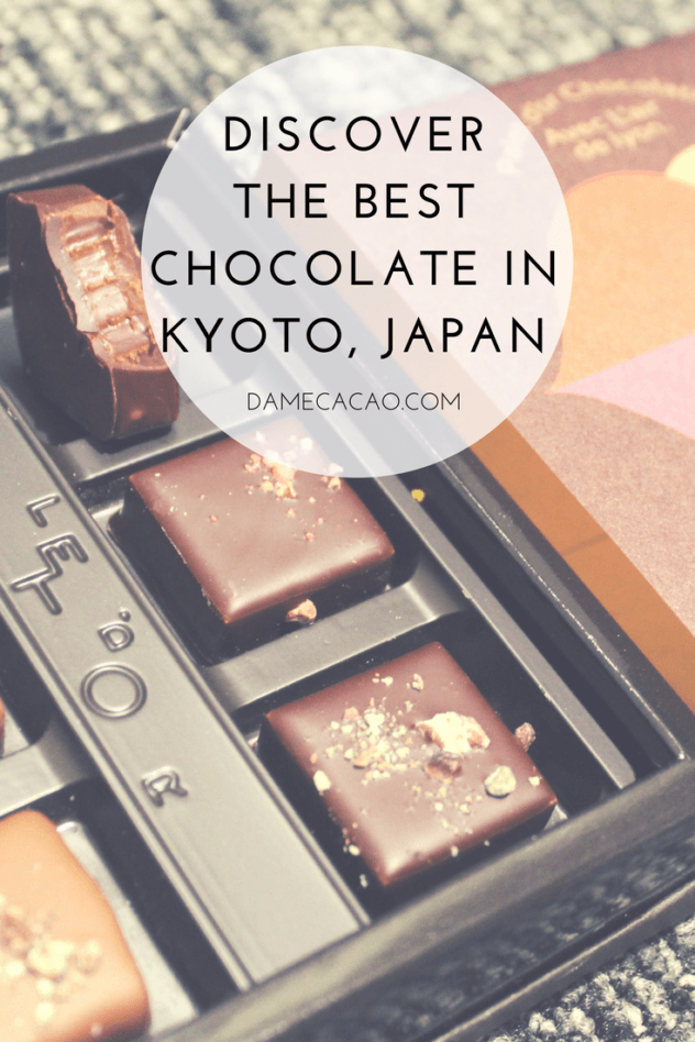 Kyoto chocolate pinterest pin 2