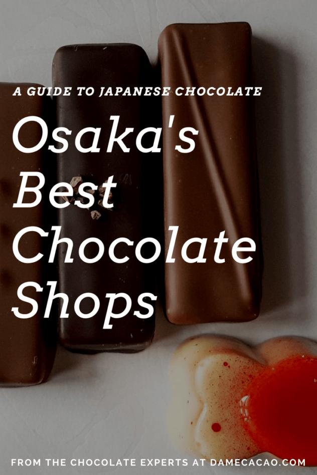 Osaka chocolate pinterest pin 1