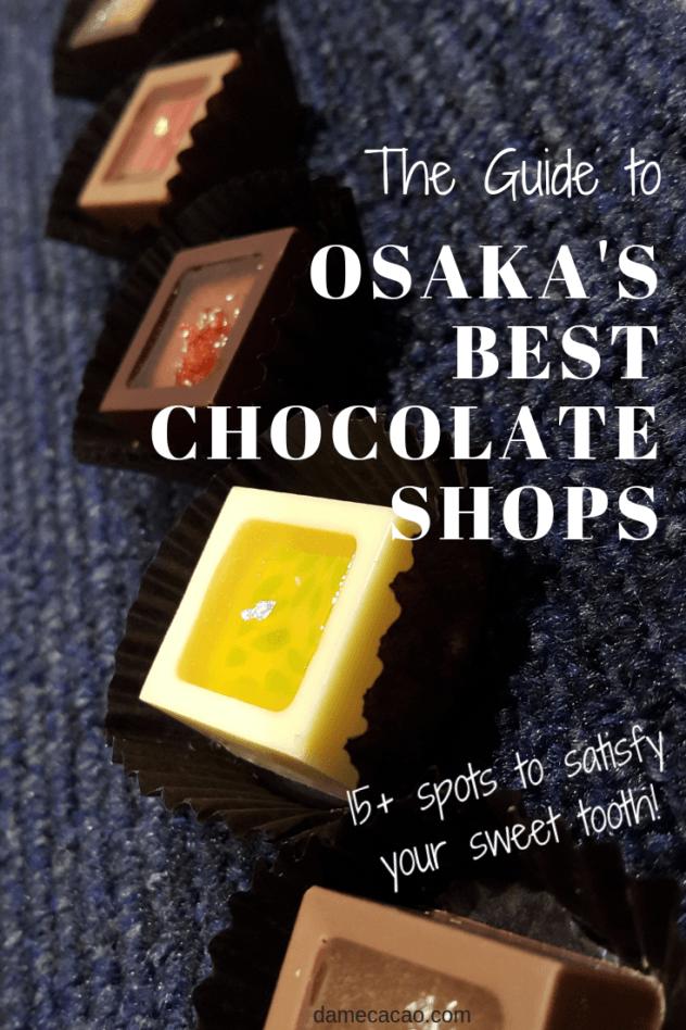 Osaka chocolate pinterest pin 2