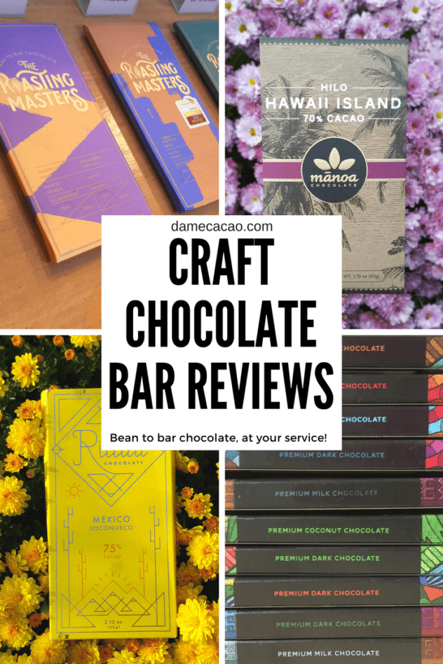 Looking for the best chocolates in the world? How about by exploring hundreds of bean to bar chocolate reviews written by an expert at damecacao.com | #bean #to #bar #chocolate #review #reviews #craft #microbatch #small #batch #artisanal #dandelion #patric #rogue