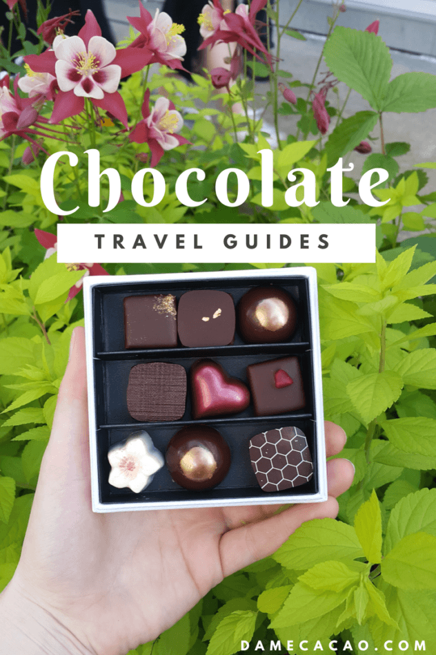 Explore delicious chocolates & cacao in every city you visit with FREE chocolate travel guides to destinations around the world. Grab a cup of cocoa and explore with me! | #chocolate #chocolat #travel #resources #city #guides #must #see #do #asia #southeast #taiwan #thailand #korea #japan #unique #activity #activities #cuba #beantobar #craft #cacao #cocoa #beans