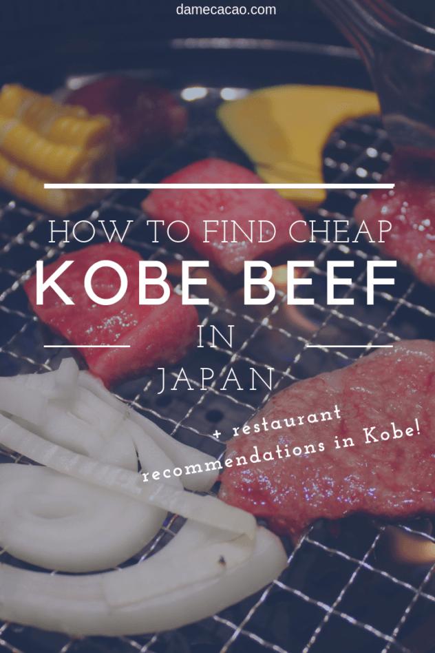 Kobe Beef pinterest pin 2