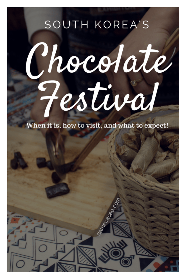 Are you visiting South Korea and looking for a fun activity to do with the family? The check out the annual chocolate festival, held every January in Seoul. | #Seoul #Salon #du #chocolat #chocolate #festival #south #korea #travel #fun #kid #friendly #activities #gangnam #cacao #cocoa
