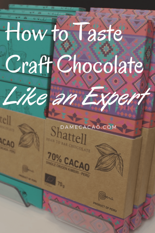 What could be a better hobby than chocolate? Whether you're looking to organize a wine and chocolate party or understand the basics of consciously experiencing your food, check out this beginner's guide to craft chocolate tasting, written by a chocolate expert. | #chocolate #craft #travel #expert #tasting #bean #to #bar #foodie #conscious #pairing #specialty #europe