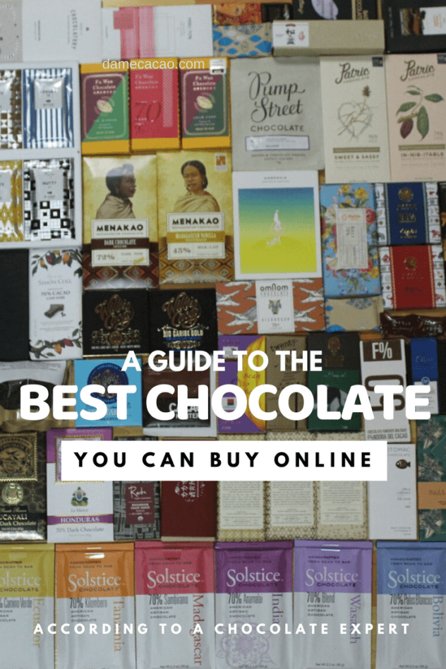 Ever wanted the opinion of a chocolate expert before clicking