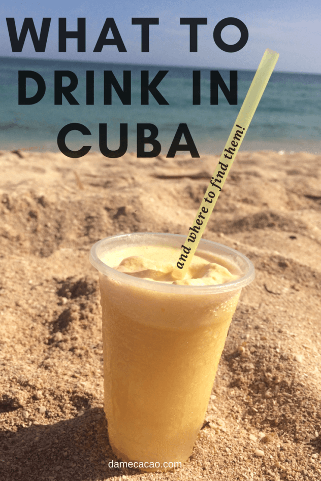 Cuban drinking pinterest pin 1