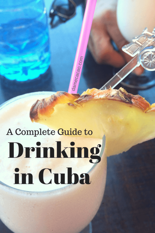 Cuban drinking pinterest pin 3