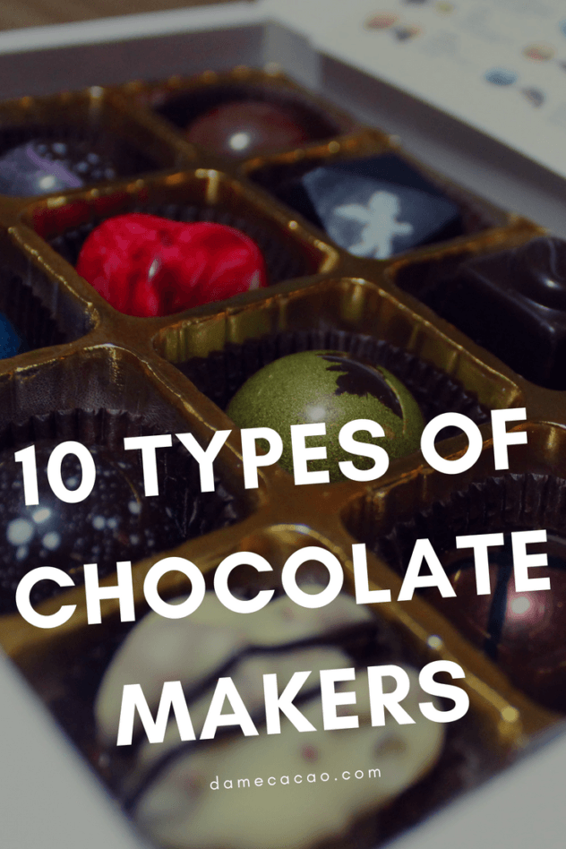Everyone loves chocolate, but we don't often stop to consider our chocolate makers like we'd consider, say, our local baker or butcher. But chocolate makers and their companies each have their own distinct personalities, and all of them fall into one or more of these ten categories. Do you know your local chocolate maker?   #chocolat #chocolate #bean #to #bar #beantobar #craft #fine #maker #makers #truffles #local #foodies #guide #types #funny #best #cacao #cocoa #dark