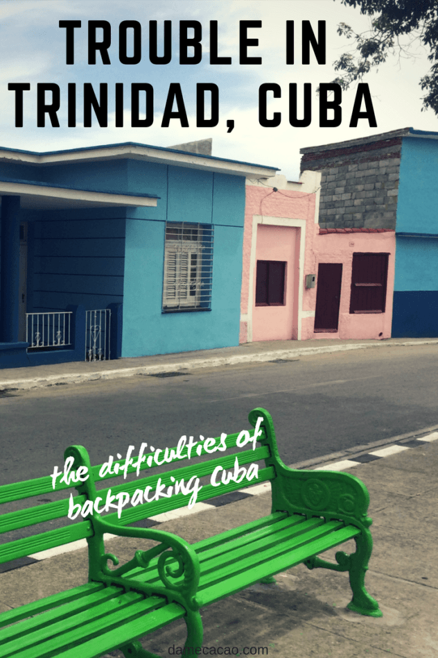 Cuba can be a supremely tough place to travel, especially coming from the US or Canada. Sometimes you run into some trouble you just can't seem to get out of... this was one of those times.   #travel #cuba #caribbean #like #local #bus #trinidad #pros #cons #problems #traveling #southern #outside #havana #eastern