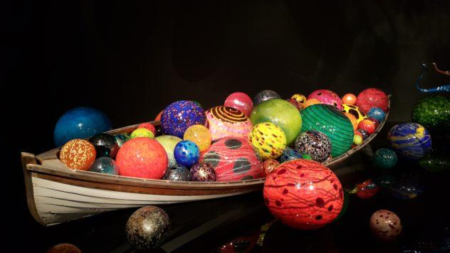 Chihuly museum Seattle boat