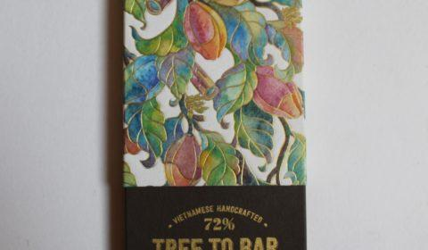 Craft Chocolate Bar Review Stone Hill Tree to Bar Vietnamese 70% Front of Bar Packaging