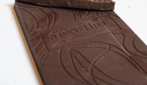 Craft Chocolate Bar Review Stone Hill Tree to Bar Vietnamese 70% Front of Bar Closeup
