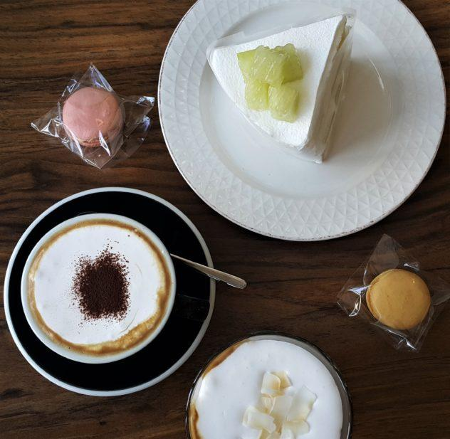 cafe coffee macaron spread yeongwol