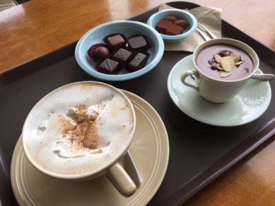 gangneung cafe chocolate truffles vienna coffee