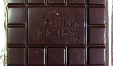 Craft Chocolate Review Roasting Masters 70% Front of Bar