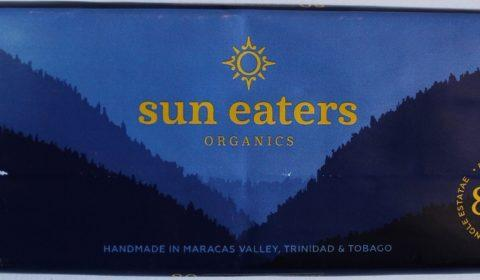 Craft Chocolate Review Sun Eaters 80% Front of Bar Packaging
