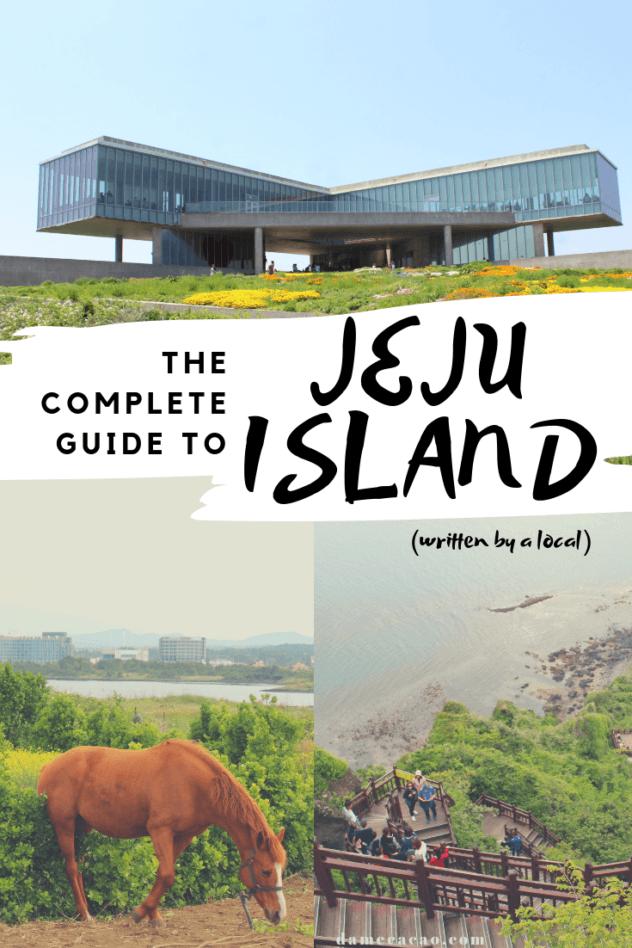 Jeju Island pinterest pin 4