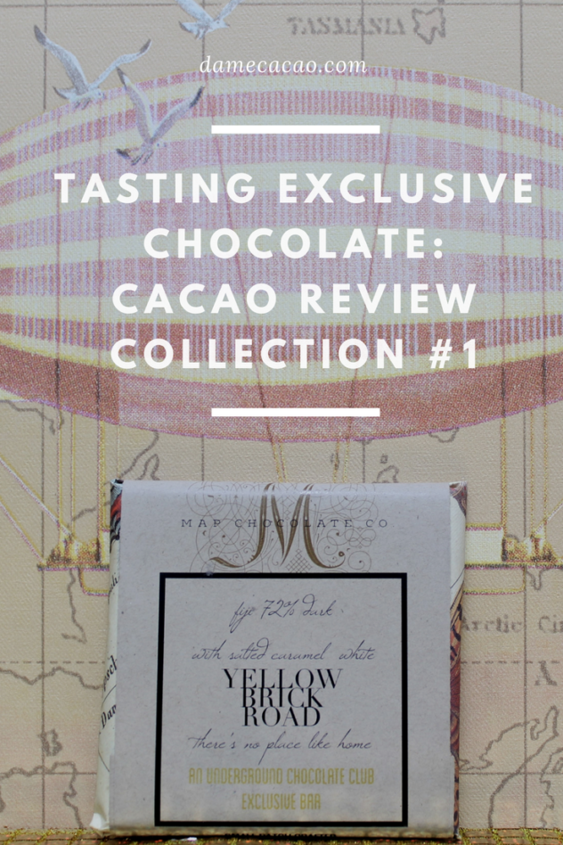 Tasting Exclusive #beantobar #Chocolate Cacao Review Collection | Dame Cacao