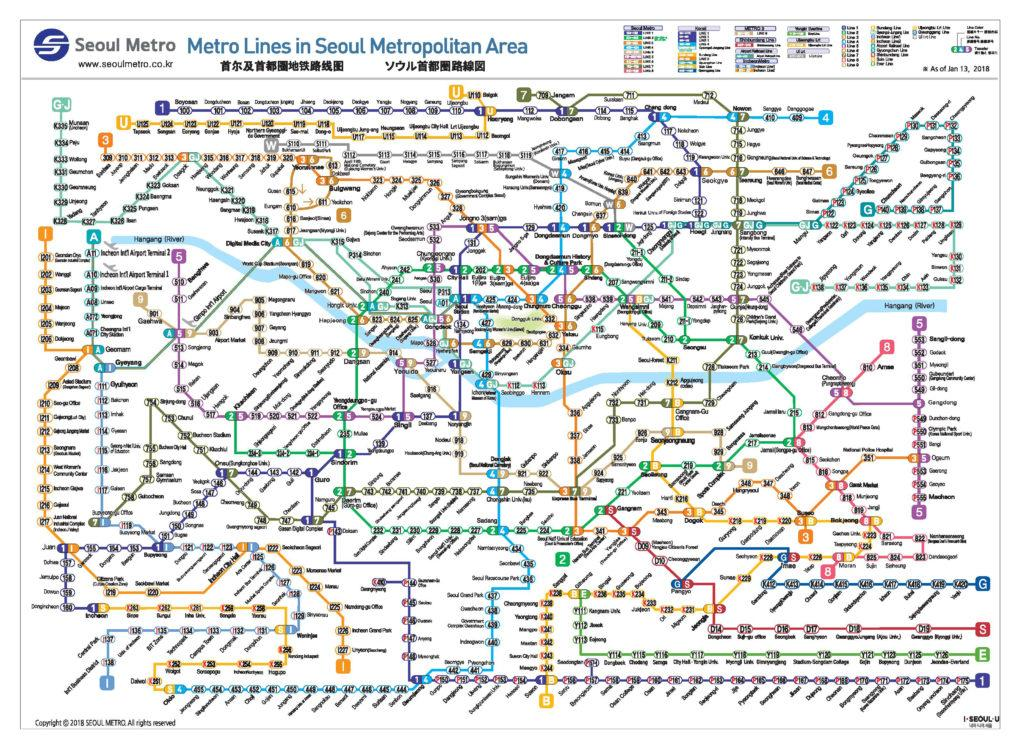 North Korean Subway Map.Where To Stay In Seoul Itinerary From A Local Interactive Map