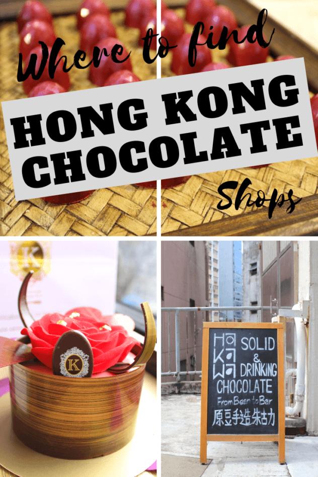 Hong Kong Chocolate pinterest pin 1